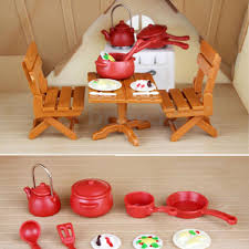 Plastic Kitchenware Playing House Games Tools Kitchen Set For Kids