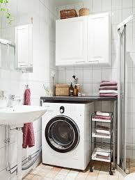 kleines bad gestalten waschmaschine stauraum ideen kleines