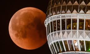 2018s Blood Moon Seen Around The World In Pictures