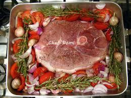 cuisiner la rouelle de porc rouelle de porc à la provençale domi vous ouvre sa porte