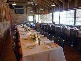 Saltgrass Steak House Private Dining Room Set Up For 40 People