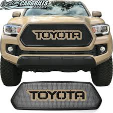 100 Grills For Trucks 2016 2017 Toyota Tacoma Mesh Grill With Bezel And Letter