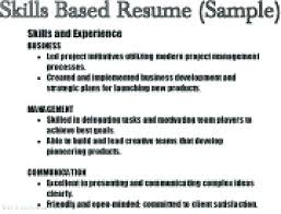 Resume Example Skills Sample With And Abilities To Examples Knowledge