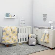 Yellow Crib Bedding from Buy Buy Baby