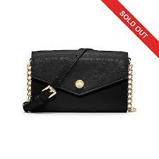 Michael Kors Saffiano Leather Phone Storage Crossbody Bag for