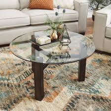 100 Living Room Table Modern Details About Coffee Decor Accent Round Glass Cocktail Wood Furniture