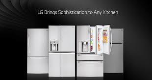 Counter Depth Refrigerator Width 30 by Lg Refrigerators Smart Innovative U0026 Energy Efficient Lg Usa