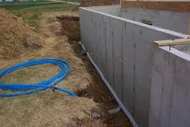 floor deck drain tile installed