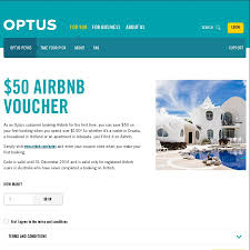 $50 Off $100+ Spend @ Airbnb @ Optus Perks (Optus Customers ... How To Get And Use An Airbnb Coupon Code Discount Itsallbee Review Plus A Valuable To Use Airbnb Coupon Print All About New Generation Home Hotel Management New 37 Off 73 100 Airbnb Coupon Code Tips October 2019 July Travel Hacks 45 Off First Time Get 40 Of Your Booking Add Payment Forms Can I Add Code Or Voucher Honey Rm40 On Promo