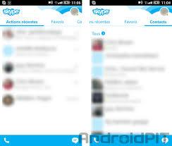 skype pour bureau update sécurité mise à jour skype pour android tout a changé
