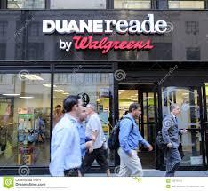 100 Duane Nyc DUANE READE WALGREENS PHARAMACY Editorial Stock Image Image Of