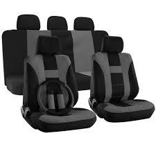 Oxgord Tactical Floor Mats amazon com oxgord 17 pieces h stripe seat cover set flat cloth