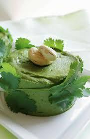 cuisine coriandre terrine de coriandre haricots blancs et noix de cajou huile de