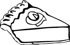 Cherry Pie b And W Clip art Black White Download vector