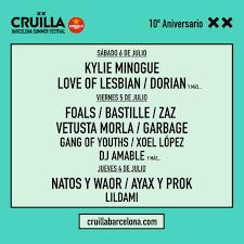 Los Reyes Magos Regalan Cruïlla Festival Cruïlla 2019