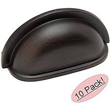 cosmas 4310orb oil rubbed bronze cabinet hardware bin cup drawer