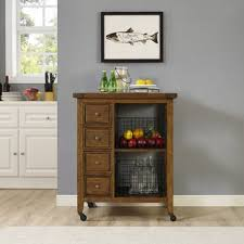 Ordway Kitchen Cart By Loon Peak Bargain