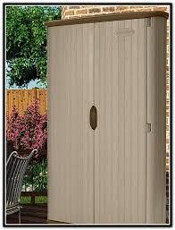 suncast vertical storage shed shelves home design ideas