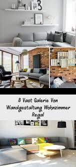 8 vast galerie wandgestaltung wohnzimmer regal