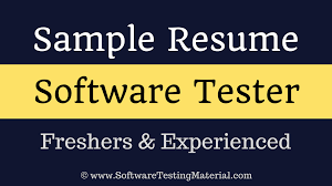 Software Testers Resume | Freshers And Experienced 10 Ecommerce Qa Ster Resume Proposal Resume Software Tester Sample Best Of Web Developer Awesome Software Testing Format For Freshers Atclgrain Userce Sign Off Form Checklist Qa Manual Samples For Experience 5 Years Format Experience 9 Testing Sample Rumes Cover Letter Templates Template 910 Examples Soft555com Inspirational Fresh Unique