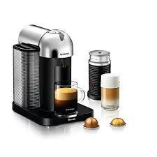Breville LP Nespresso VertuoLine With Aeroccino 3 By Chrome