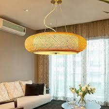 minimalismus hängele rund aus bambus handgemacht für
