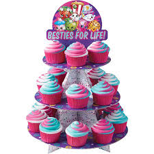 Shopkins Besties For Life Cupcake Stand