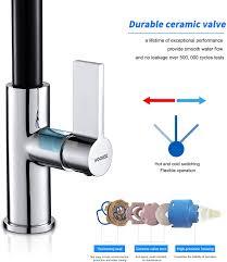 mischbatterie für küche spüle wasserhahn küche ausziehbar