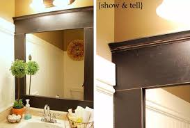 26 Beautiful Bathroom Mirror Ideas | Shutterfly Mirror Ideas For Bathroom Double L Shaped Brown Finish Mahogany Rustic Framed Intended Remodel Unbelievably Lighting White Bath Oval Mirrors Best And Elegant Selections For 12 Designs Every Taste J Birdny Luxury Reflexcal Makeover Framing A Adding Storage Youtube Decorative Trim Creative Decoration Fresh 60 Unique