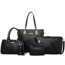 fashion women pu leather handbag shoulder bag tote bag purse bags