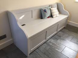 5ft Rustic Style Window Seat Bench Settle Pew With Storage MADE TO ANY SIZE