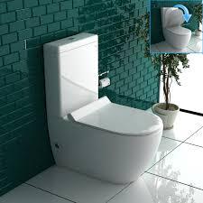 stand wc weiss mit geberit spülkasten komplett keramik toilette inkl wc sitz tiefspüler geräuchlose leise absenkung softclose wc set geberit