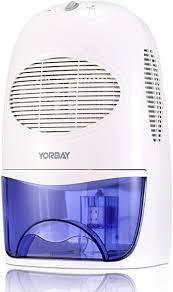 yorbay luftentfeuchter 2000ml wassertank 500ml pro tag raumgröße ca 15 20 m elektrisch raumentfeuchter gegen feuchtigkeit für schlafzimmer