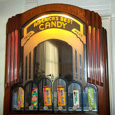 Masterbrand Cabinets Inc Arthur Il by Antique Art Deco Vending Machine Nickel Candy Dispenser Theatre