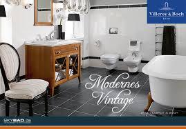 moderne vintage badezimmer skybad gmbh pressemitteilung