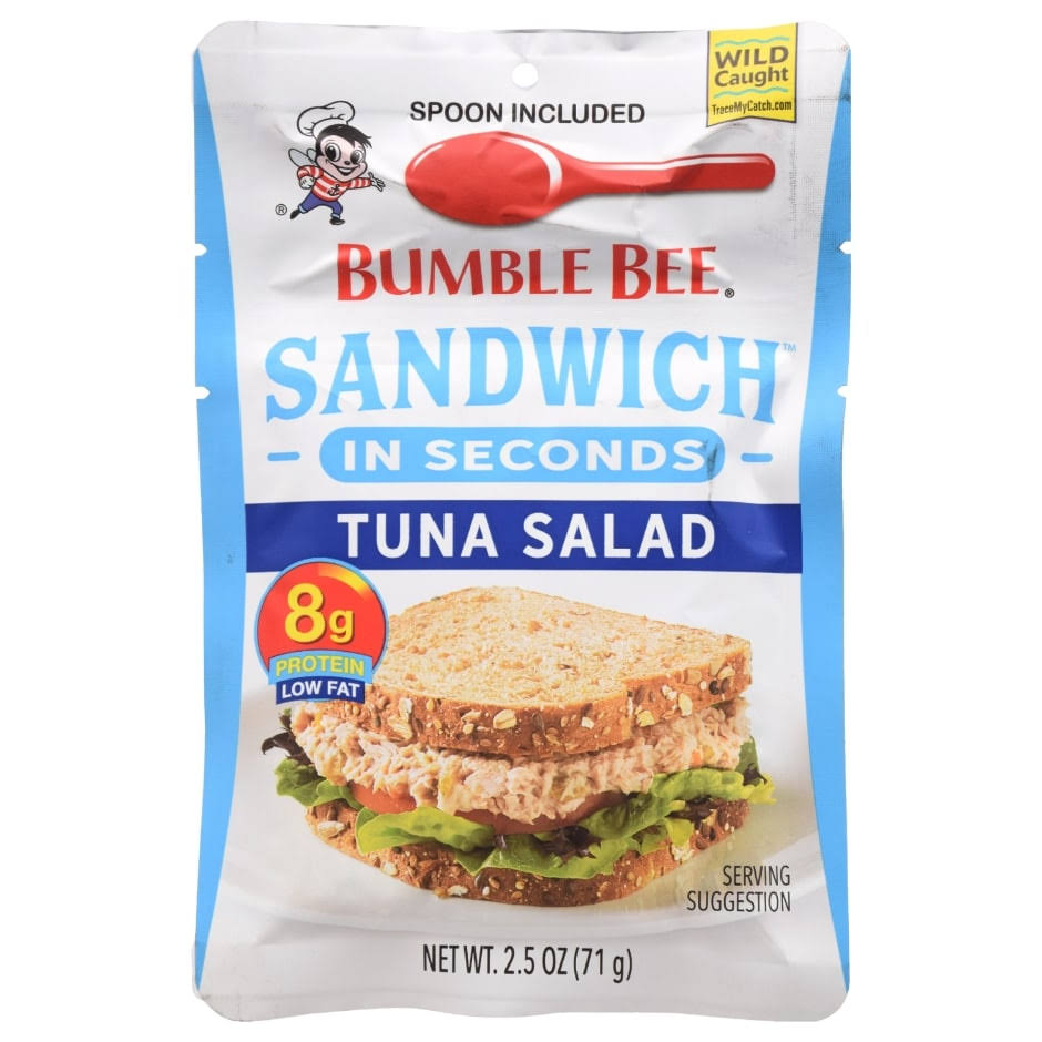 Bumble Bee Sandwich in Seconds Tuna Salad - 2.50oz