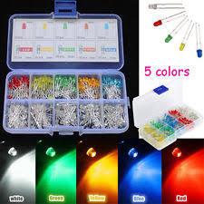 500pcs 3mm top led colorful light bulb diy set car