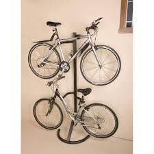 Racor Ceiling Mount Bike Lift Instructions by Free Standing Bike Rack 2 Bikes Storeyourboard Com