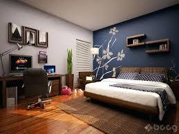 Gray Accent Wall Blue Walls Dark Dining Room