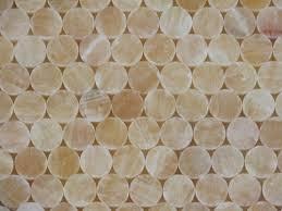 1x1 honey onyx polished circles pattern mesh mounted mosaic tile