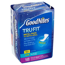 Goodnites Bed Mats by Goodnites Trufit Disposable Absorbent Inserts For Boys U0026 Girls