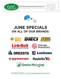 100 Truck Rental Buffalo Ny Equipment Specials OSC Inc NY