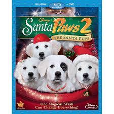 Santa Paws 2 The Santa Pups Bluray And DVD Combo Pack ShopDisney