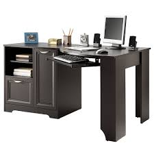 Realspace Broadstreet Contoured U Shaped Desk Cherry by Realspace Soho Magellan Collection Corner Desk Best Home