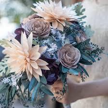 DIY Rustic Wedding Bouquet By Lia Griffith
