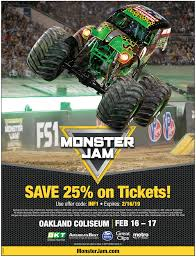 99 Monster Trucks Tickets Jam Bay Area 2019 WIN A Family Pack