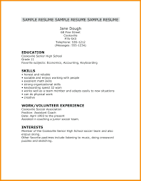 Resume ~ Resume Simple Job Template Fantastic Very Examples ... Resume Sample High School Student Examples No Work Experience Templates Pinterest Social Free Designs For Students Topgamersxyz 48 Astonishing Photograph Of Job Experienced 032 With College Templatederful Example View 30 Samples Of Rumes By Industry Level
