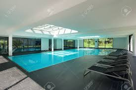 100 Interior Swimming Pool Indoor Swimming Pool Of A Modern House With Spa