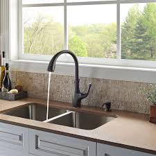 Pfister Pasadena Kitchen Faucet by Tuscan Bronze Vosa 1 Handle Pull Down Kitchen Faucet With Soap