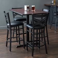 Magnificent Height Dining Chairs Pub Room Adjustable Table ...
